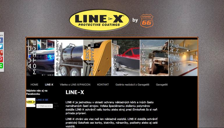 LINE-X Slovensko
